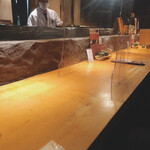 新宿 今井屋本店 - カウンター
