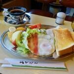 森永 - モーニング550円