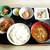 まるも食堂 - 料理写真:朝めし定食 豚汁チェンジ