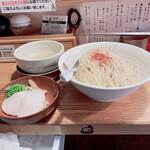 ようすけ 鶏煮亭 - 濃厚鷄つけ麺(大盛)