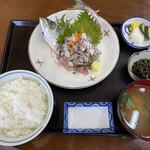 大吉 - 料理写真:お代わりには漬物も付いてきます