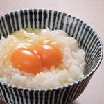 ふたごやTKG(卵かけご飯)