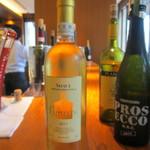リストランテ カノビアーノ - 本日頂いたワイン「ソワーベ」