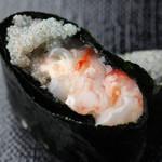 おたる政寿司 - 海老:えび味噌