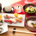 おたる政寿司 - ランチ:椿(つばき)