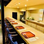 150358125 - ◎古い長屋を改築した店内は茶室の様な雰囲気が漂う。