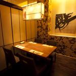 おたる政寿司 - 個室:『東雲』