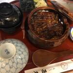 西本 - 料理写真:ひつまぶし 3700円
