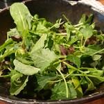 汁なし担担麺専門 キング軒 - 汁なし担々麺(630円)+野菜プラス(150円)。