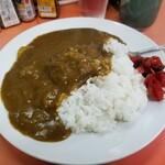 亀鶴 - 料理写真:カレーライス。