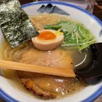 AFURI - 柚子塩らーめん(真空手揉み麺)