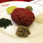 150367534 - きたあーヽ(´▽`)/馬肉タルタルステーキ原材料
