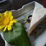 ギャラリーアンドカフェ 草画房 - チーズケーキ 450円