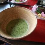 ギャラリーアンドカフェ 草画房 - 抹茶セット 750円