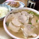 松本中華そば店 - 肉大 めし ギョーザ