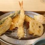 えびのや - 天ぷらアップ