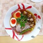 Ramentanino - 拉麺その二(明石蛸とポルチーニ茸のスープ)