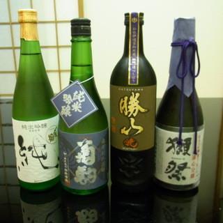 料理に合うに日本酒を全国から厳選