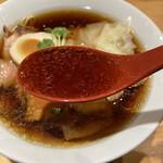 中華そば いしかわや - スープ
