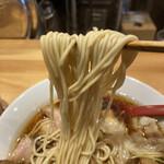 中華そば いしかわや - 麺
