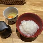 中華そば いしかわや - 卵かけ御飯