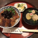 150385984 - 肝入りうなぎ丼(限定)4510円(税込)