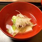 割烹 柊 - 椀物:甘鯛のお吸い物様