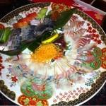 海鮮居酒屋 洗濯船 - 鯖と石鯛