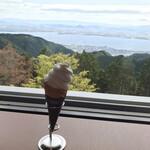 比叡山峰道レストラン - 窓側席
