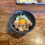 麺処 福吉 - ちゃーしゅー丼(400円)