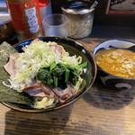 クックら - つけ麺中盛TS刻みネギ
