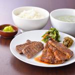 伊達の牛たん本舗 - 牛たん&牛カルビ定食