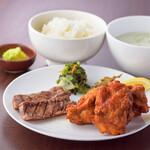 伊達の牛たん本舗 - 牛たん&桜姫ざんぎ定食