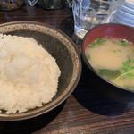 Bistro O - 羽釜炊きごはんと味噌汁