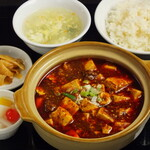 中華料理 成都 - 麻婆豆腐セット
