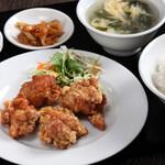 中華料理 成都 - 唐揚げセット