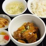 中華料理 成都 - 角煮セット