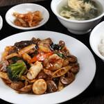 中華料理 成都 - 八宝菜セット