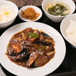 中華料理 成都 - 麻婆茄子セット