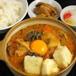 中華料理 成都 - もちふわ豆腐の坦坦煮込み鍋セット