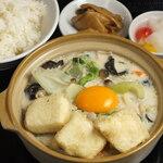 中華料理 成都 - もちふわ豆腐の白湯煮込み鍋セット