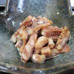 15040276 - 小鉢にはイカのげそと頭を煮たもの