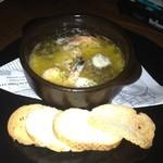イタリアン居酒屋 ネアルコ - エビのオイル煮