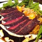 ラ ファーメ - 牛いちぼ肉のタリアータ wt バルサミコソース