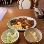 キッチン・オバサン - オムハヤシ('21/04/28)