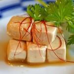 中国菜 智林 - クリームチーズの紹興酒漬け