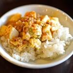 中国菜 智林 - 自家製豆板醤の麻婆豆腐
