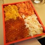 あおもり北彩館 - 料理写真:お富久の弁当(1300円)