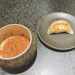 150403663 - 餃子(丹波高坂地鶏のよだれ鶏のソース)
