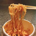 150403669 - 山椒麺(丹波高坂地鶏のよだれ鶏のソース)